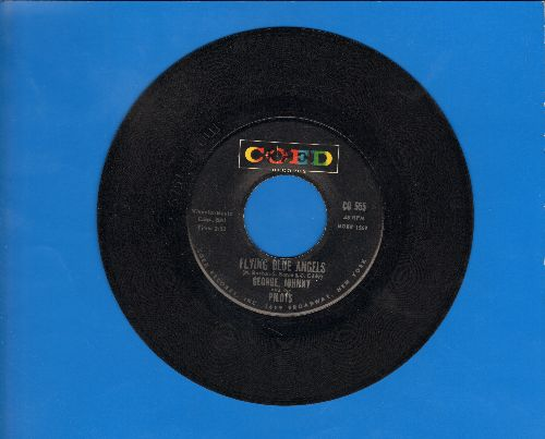 George, Johnny & The Pilots - Flying Blue Angels/A Fiddle And A Bow - VG7/ - 45 rpm Records