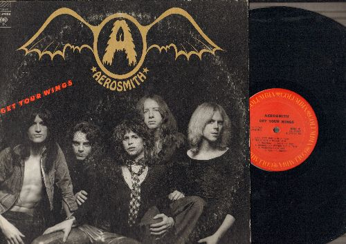 Aerosmith - Get Our Wings: Pandora's Box, Same Old Song And Dance, Lord Of The Thighs, S.O.S. (Too Bad), Seasons Of Wither (vinyl STEREO LP record) - EX8/EX8 - LP Records