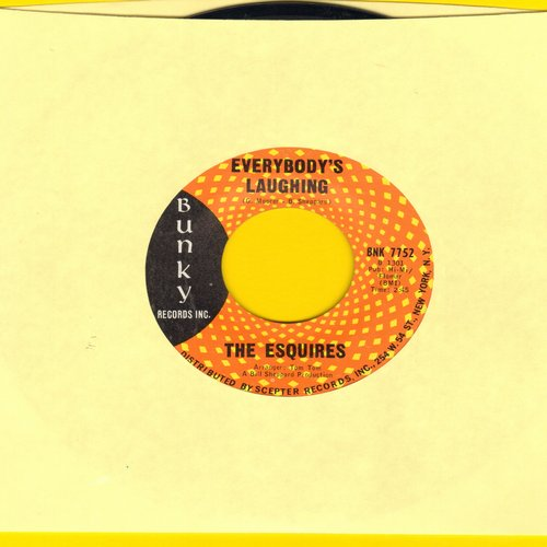 Esquires - Everybody's Laughing/And Get Away - EX8/ - 45 rpm Records