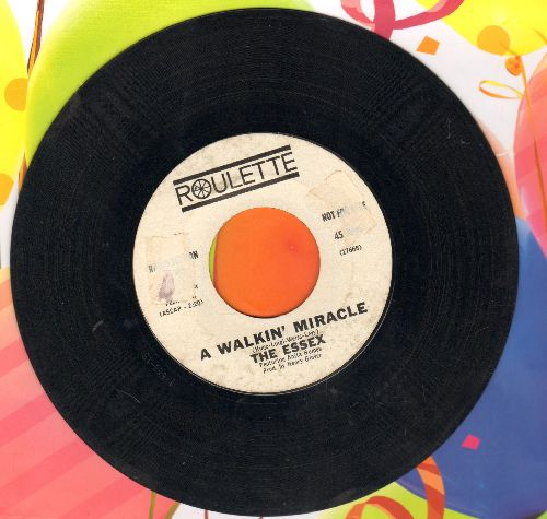 Essex - A Walking Miracle/What I Don't Know Won't Hurt Me (DJ advance pressing, sol) - VG7/ - 45 rpm Records