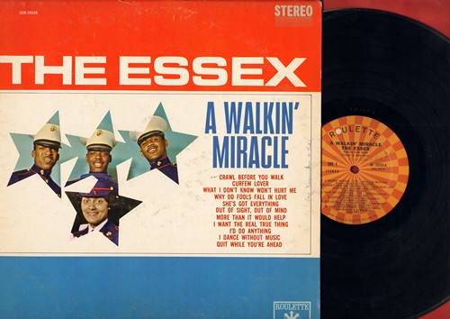 Essex - A Walkin' Miracle: Why Do Fools Fall In Love, She's Got Everything, Crawl Before You Walk (Vinyl STEREO LP record) - EX8/VG7 - LP Records