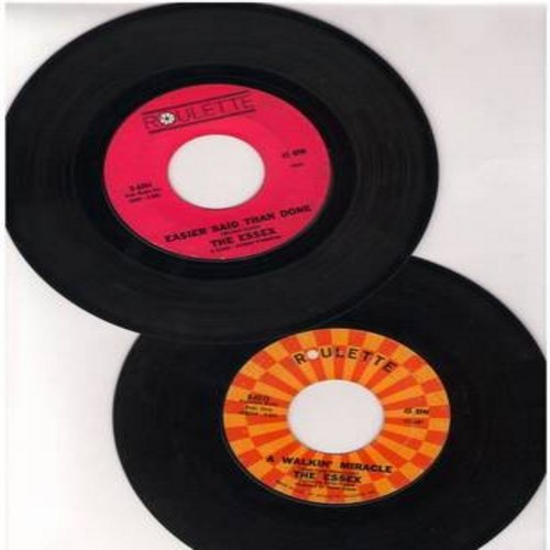 Essex - 2 for 1 Special: Easier Said Than Done/A Walkin' Miracle (2 original first issue 45rpm records for the price of 1!) - VG7/ - 45 rpm Records