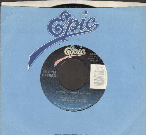 Estefan, Gloria & The Miami Sound Machine - Rhythm Is Gonna Get You/Give It Up (with Epic company sleeve) - VG7/ - 45 rpm Records