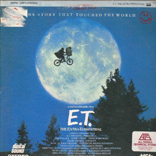E.T. The Extra-Terresrial - E.T. The Extra-Terresrial LASERDISC by Steven Spielberg (soc) - NM9/VG7 - LaserDiscs