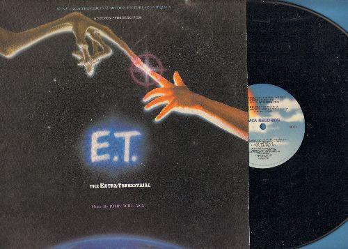 Williams, John - E.T. The Extra-Terrestrial: Original Motion Picture Soundtrack, music by John Williams (vinyl LP record) - NM9/EX8 - LP Records