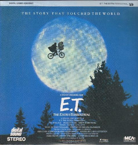 E.T. The Extra-Terresrial - E.T. The Extra-Terresrial LASERDISC by Steven Spielberg (SEALED, never opened! GREAT as a gift!) - SEALED/SEALED - LaserDiscs