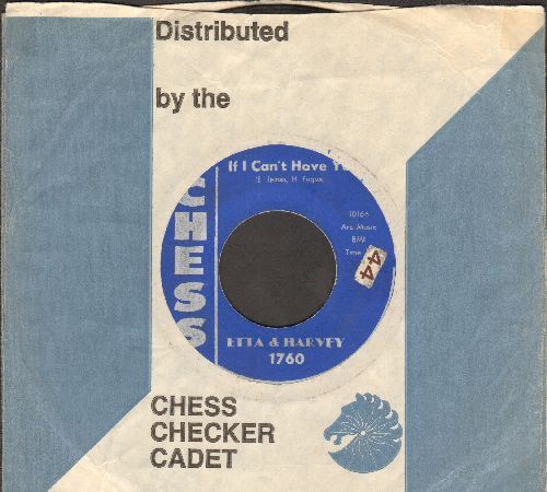 Etta & Harvey - My Heart Cries/If I Can't Have You (with company sleeve) - VG7/ - 45 rpm Records