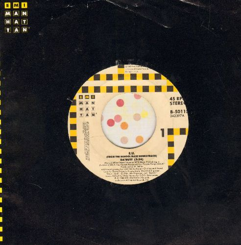 E. U. - Da'Butt/Da'Butt (Dub Version) (with EMI company sleeve) - NM9/ - 45 rpm Records