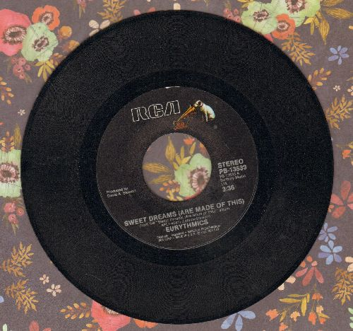 Eurythmics - Sweet Dreams (Theme from Martha Stewart's TV Reality Show)/I Could Give You (A Mirror)  - EX8/ - 45 rpm Records