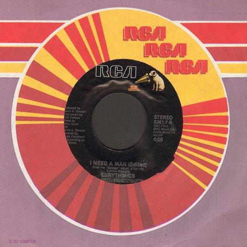 Eurythmics - I Need A Man/Heaven  - NM9/ - 45 rpm Records