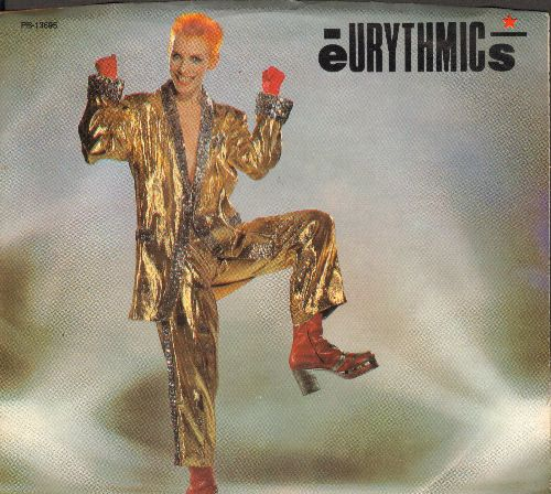 Eurythmics - Right By Your Side/Right By Your Side (Party Mix) (with picture sleeve) - M10/EX8 - 45 rpm Records