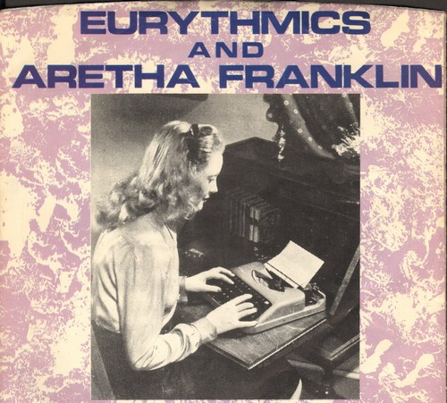 Eurythmics & Aretha Franklin - Sisters Are Doin' It For Themselves/I Love You Like A Ball And Chain - NM9/EX8 - 45 rpm Records