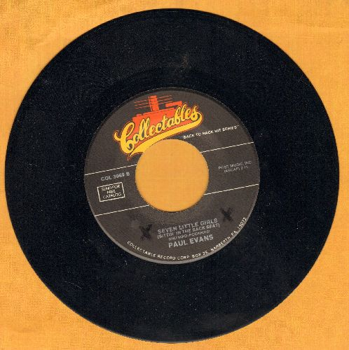Evans, Paul - Seven Little Girls/Midnight Special (double-hit re-issue) - NM9/ - 45 rpm Records
