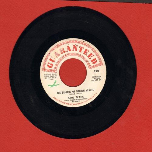 Evans, Paul - Twins/The Bridge Of Broken Hearts (ssol) - EX8/ - 45 rpm Records