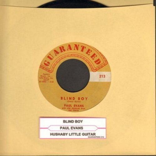 Evans, Paul - Blind Boy/Hushaby Little Guitar  - EX8/ - 45 rpm Records