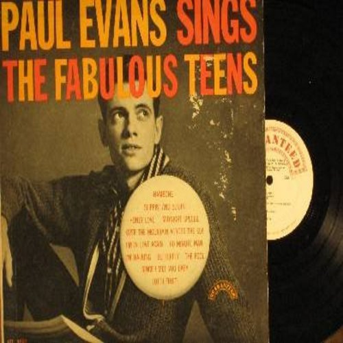 Evans, Paul - Folk Songs Of Many Lands: Mister Hangman, Wearing Of The Green, Samuel Hall, Crucified My Lord, Poor Boy (Vinyl MONO LP record) - NM9/EX8 - LP Records