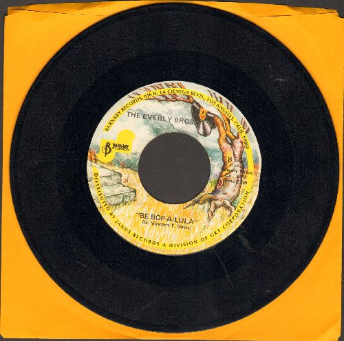 Everly Brothers - When Will I Be Loved/Be Bop A-Lula (double-hit re-issue) - NM9/ - 45 rpm Records