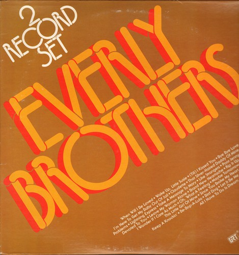Everly Brothers - Everly Brothers: When Will I Be Loved, Bye Bye Love, All I Have To Do Is Dream, Let It Be Me (2 vinyl LP records) - NM9/NM9 - LP Records