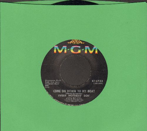 Every Mother's Son - Come On Down To My Boat/I Believe In You  - NM9/ - 45 rpm Records