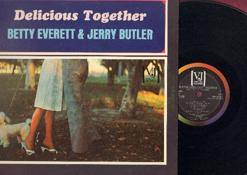 Everett, Betty & Jerry Butler - Delicious Together: Let It Be Me, Love Is Strange, Our Day Will Come, Fever, Let The Good Times Roll (Vinyl STEREO LP record) - NM9/NM9 - LP Records