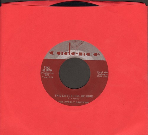 Everly Brothers - This Little Girl Of Mine/Should We Tell Him - EX8/ - 45 rpm Records