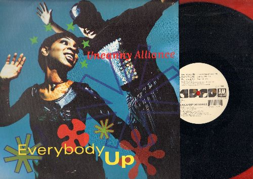 Uncanny Alliance - Everybody Up - 5 Different Dance Club Tracks on 12 inch vinyl Maxi Single with picture cover - NM 9/EX8 - Maxi Singles