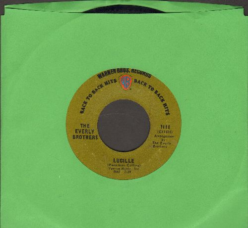 Everly Brothers - Lucille/Crying In The Rain (early double-hit re-issue) - NM9/ - 45 rpm Records