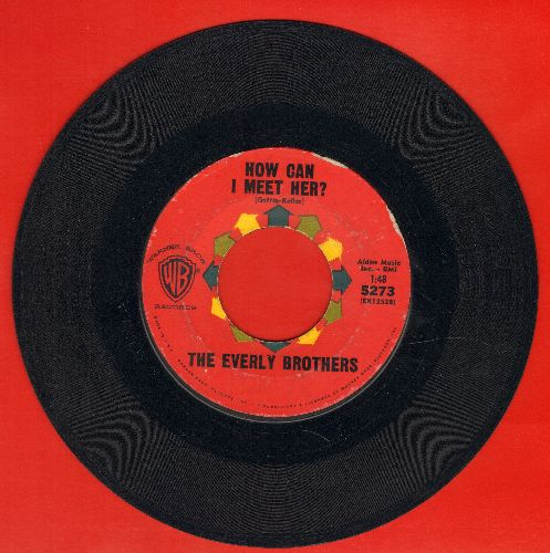 Everly Brothers - How Can I Meet Her/That's Old Fashioned  - EX8/ - 45 rpm Records