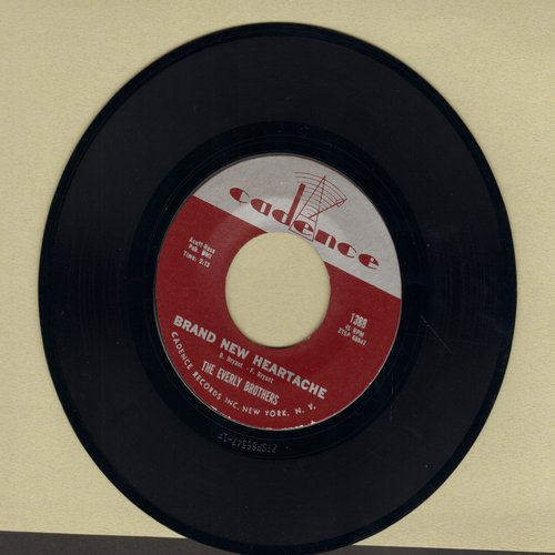 Everly Brothers - Brand New Heartache/Like Strangers - EX8/ - 45 rpm Records