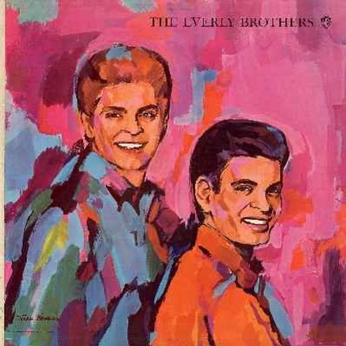Everly Brothers - Both Sides Of An Evening: My Mammy, My Gal Sal, Hi-Lili Hi-Lo, The Wayward Wind, Don't Blame Me, Love Is Where You Find It (Vinyl MONO LP record) - EX8/EX8 - LP Records