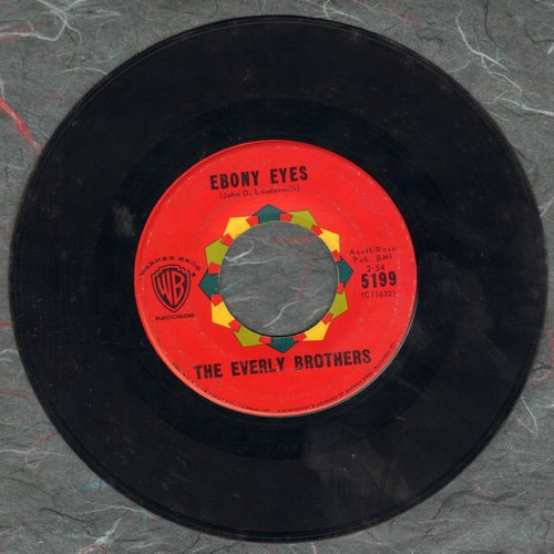 Everly Brothers - Ebony Eyes/Walk Right Back  - G5/ - 45 rpm Records