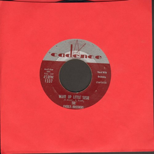 Everly Brothers - Wake Up Little Susie/Maybe Tomorrow  - EX8/ - 45 rpm Records