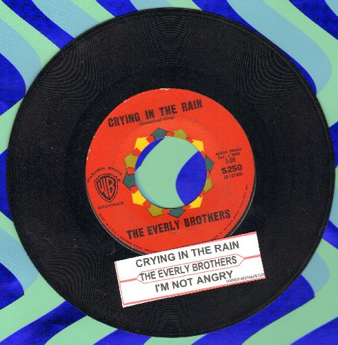 Everly Brothers - Crying In The Rain/I'm Not Angry  - EX8/ - 45 rpm Records