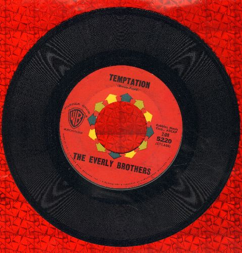 Everly Brothers - Temptation/Stick With Me Baby  - VG7/ - 45 rpm Records