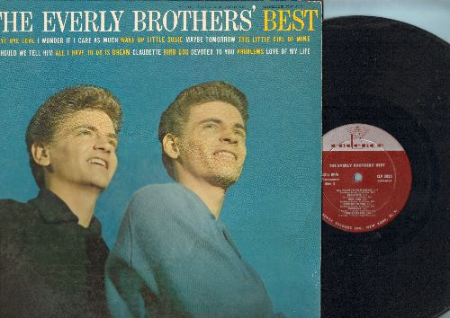 Everly Brothers - The Everly Brothers' Best: Bye Bye Love, Wake Up Little Susie, All I Have To Do Is Dream, Bird Dog, Devoted To You (Vinyl MONO LP record) - EX8/EX8 - LP Records