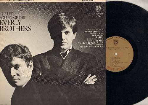 Everly Brothers - The Hit Sound Of Everly Brothers: Blueberry Hill, The House Of The Rising Sun, Oh Boy!, Good Golly Miss Molly (Vinyl STEREO LP record, gold label MONO pressing) - NM9/EX8 - LP Records