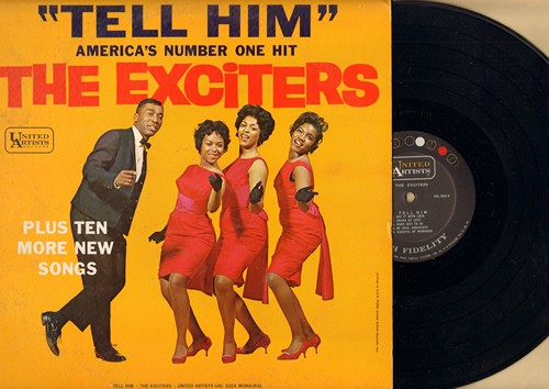 Exciters - Tell Him: He's Got The Power, I Dreamed, Remember Me, Handful Of Memories, Get Him Alone (Vinyl MONO LP record) - M10/EX8 - LP Records
