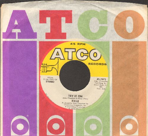 Exile - Try It On/Show Me What You Got (with Atco company sleeve) - NM9/ - 45 rpm Records