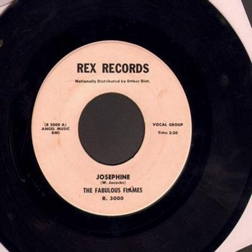 Fabulous Flames - Josephine/My Joan (RARE 1958 first issue) (ssol) - VG6/ - 45 rpm Records