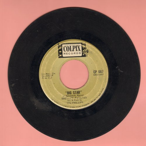 Fabares, Shelley - Big Star/Telephone (Won't You Ring)  - VG7/ - 45 rpm Records