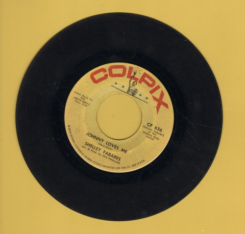Fabares, Shelley - Johnny Loves Me/I'm Growing Up - EX8/ - 45 rpm Records