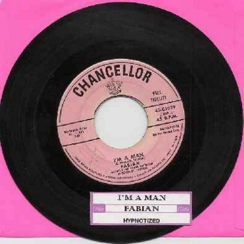 Fabian - I'm A Man/Hypnotized (with juke box label) (sol) - EX8/ - 45 rpm Records