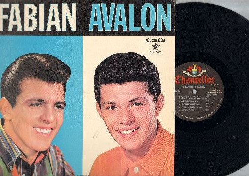 Fabian, Frankie Avalon - Fabian/Avalon - The Hit Makers: Tiger, Turn Me Loose, Just Ask Your Heart, Venus, Hound Dog Man, Why, I'll Wait For You, I'm A Man, Bobby Sox To Stockings (vinyl MONO LP record, NICE condition!)  - NM9/EX8 - LP Records