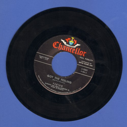 Fabian - Got The Feeling/Come On And Get Me  - EX8/ - 45 rpm Records