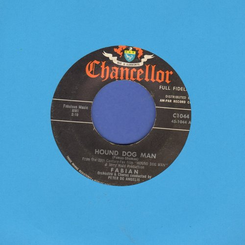 Fabian - Hound Dog Man/This Friendly World  - EX8/ - 45 rpm Records