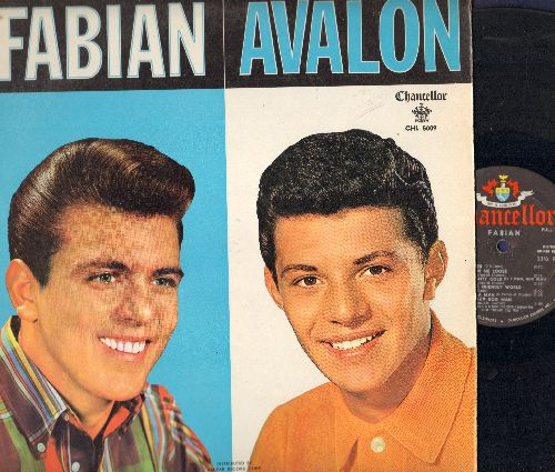 Fabian, Frankie Avalon - Fabian/Avalon - The Hitmakers: Tiger, Just Ask Your Heart, Venus, I'm A Man, Why, Turn Me Loose (vinyl MONO LP record) - VG7/VG7 - LP Records