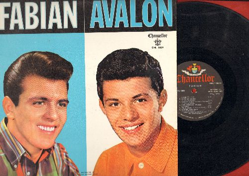 Fabian, Frankie Avalon - Fabian/Avalon - The Hitmakers: Tiger, Just Ask Your Heart, Venus, I'm A Man, Why, Turn Me Loose (vinyl MONO LP record) - EX8/EX8 - LP Records