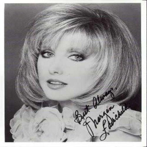 Fairchild, Morgan - Personally signed 8 X 10 black & white AUTOGRAPH foto. Signed