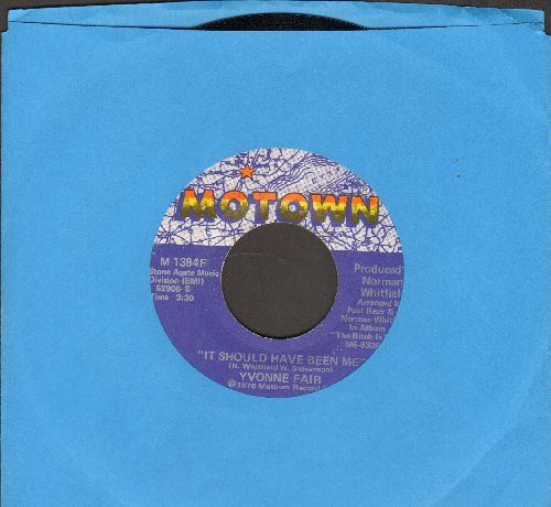 Fair, Yvonne - It Should Have Been Me/Tell Me Something Good - NM9/ - 45 rpm Records
