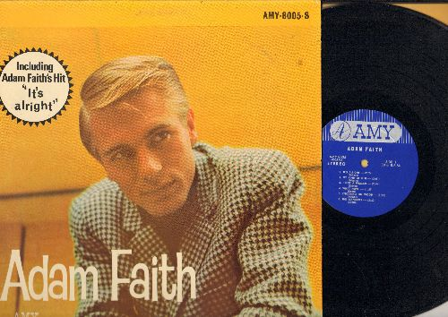 Faith, Adam - Adam Faith: It's Alright, My Kind Of Girl, Take Good Care Of My Baby, If I Had A Hammer, Let There Be Love, Ginny Come Lately, The Wanderer (vinyl STEREO LP record) - NM9/NM9 - LP Records